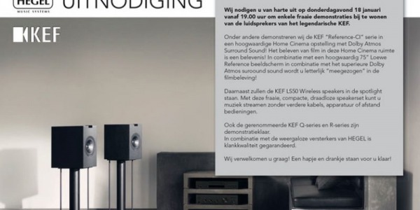 KEF EVENT 18 JANUARI UITNODIGING