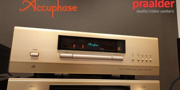 Hi-End Accuphase DP-430 CD Speler